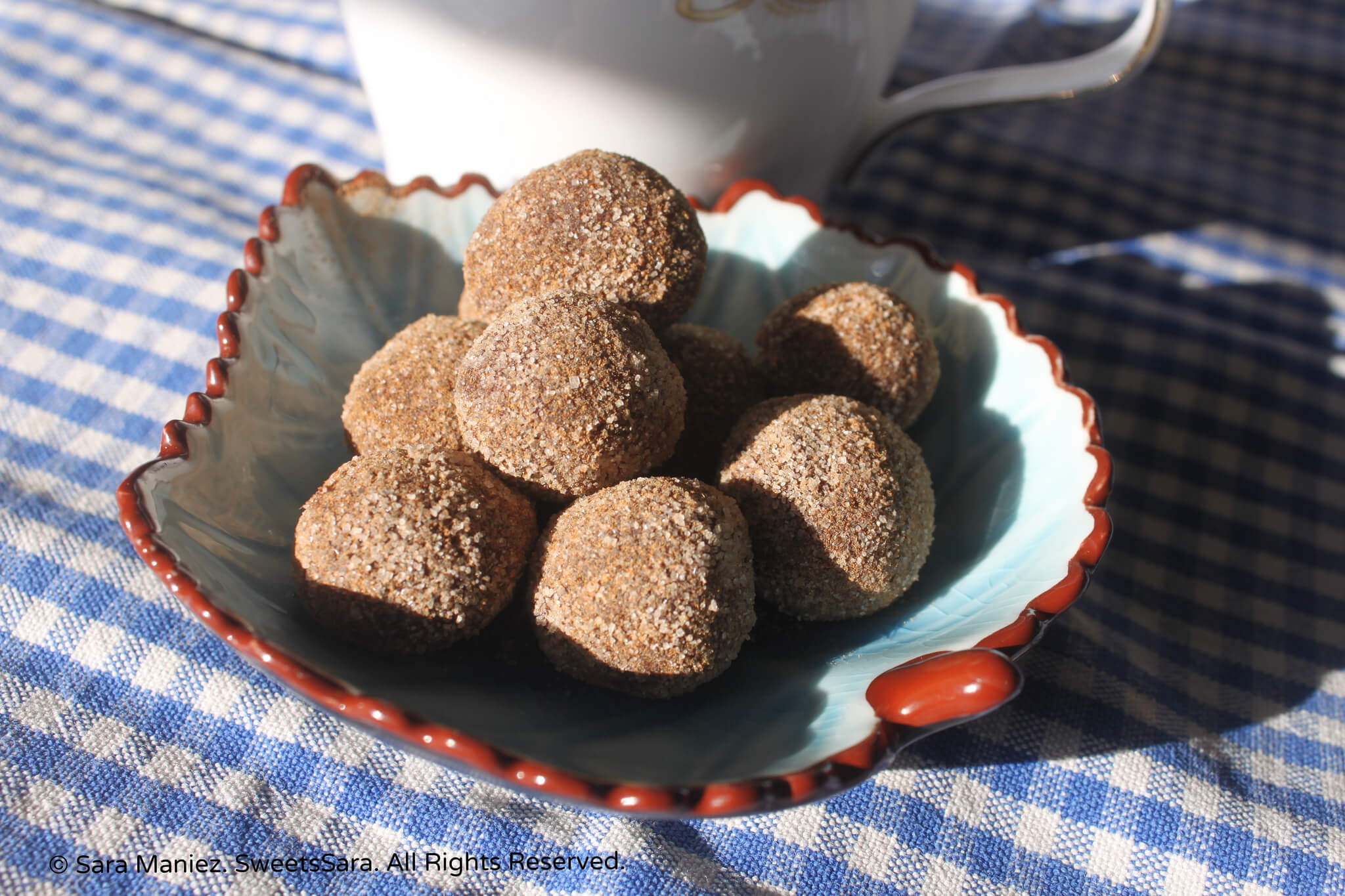 Mocha Cinnamon Truffles are excellent with coffee