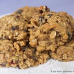 Oatmeal Raisin Cranberry Cookies never  last long after they are baked because everyone gobbles them up!