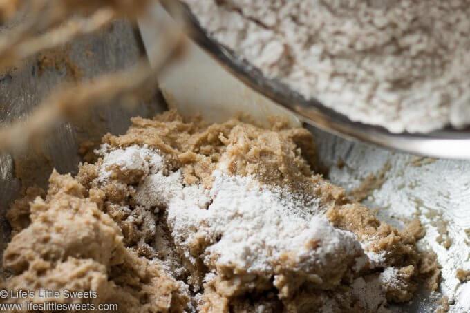 Oatmeal Raisin Cranberry Cookies process photos