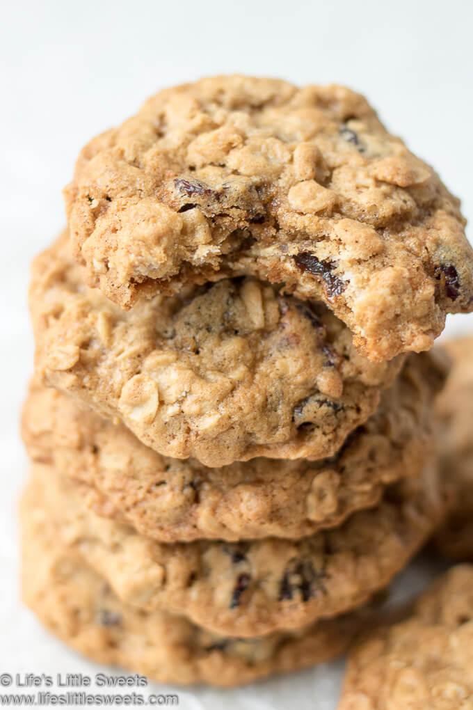 Oatmeal Raisin Cranberry Cookies