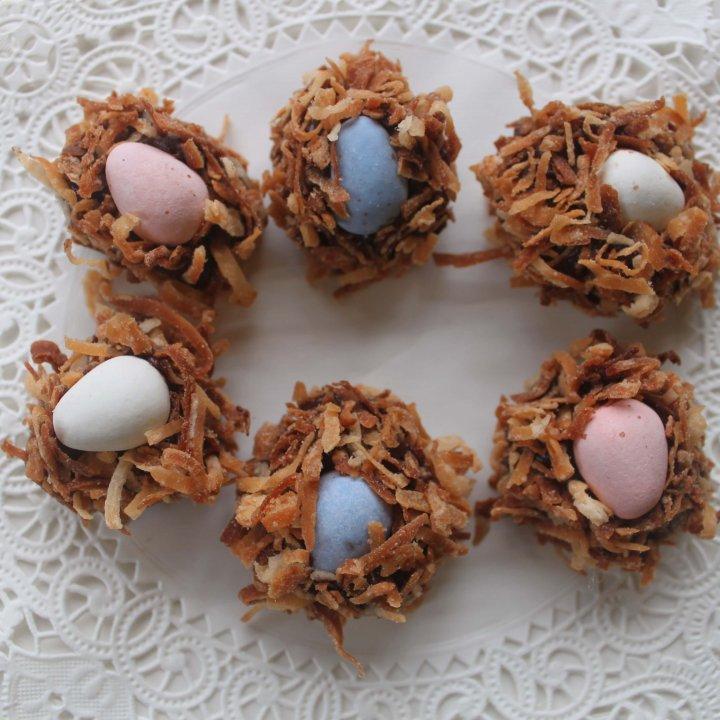 Mini Egg Nest Truffles