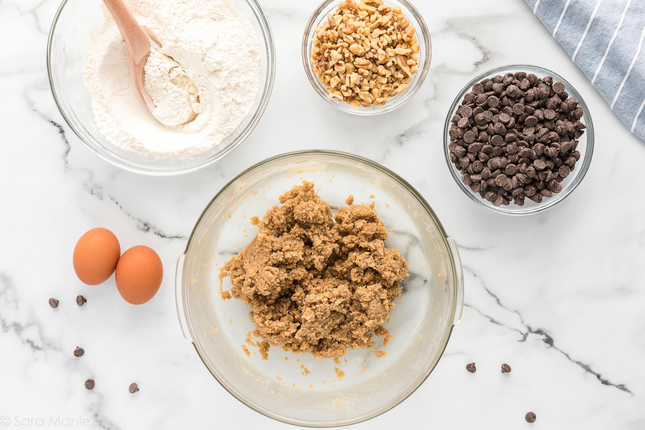 Chocolate Chip Cookies recipe process photos