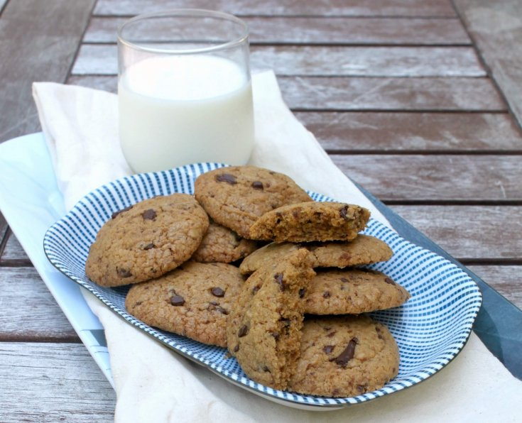 Chocolate Chip Cookies (DF + SF)