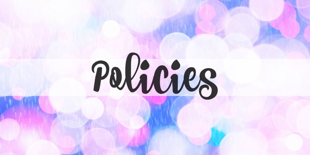 Policies | Life's Little Sweets
