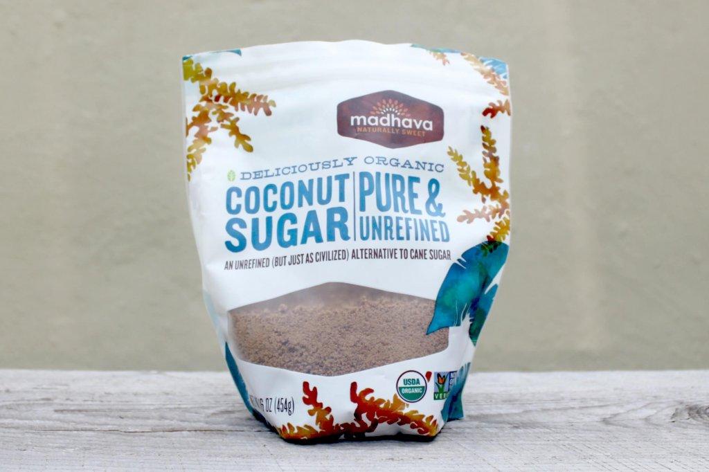 Madhava Coconut Sugar packaging