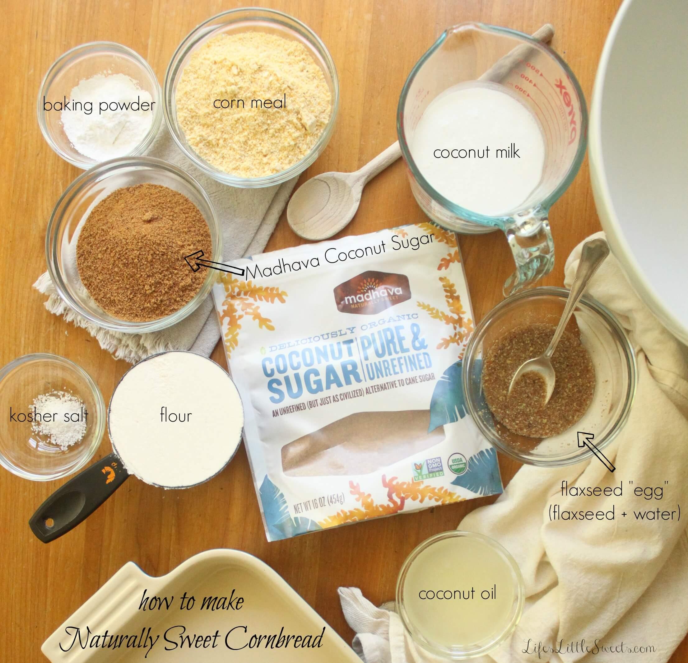 how to make naturally sweet cornbread