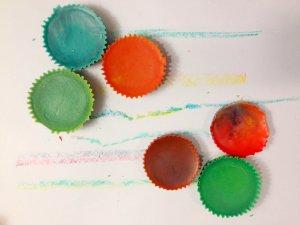 solid diy crayons