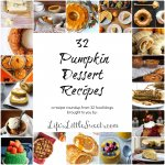I'm sharing an ecstatic array of pumpkin dessert recipes to dazzle and delight and get those creative juices flowing in the kitchen – pumpkin-wise of course! Any one of these could be a real winner after dinner and or a holiday gathering.