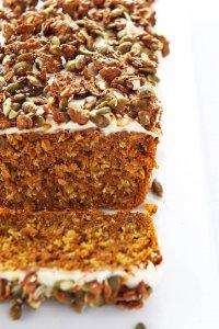 Pumpkin-Loaf-with-Oatmeal