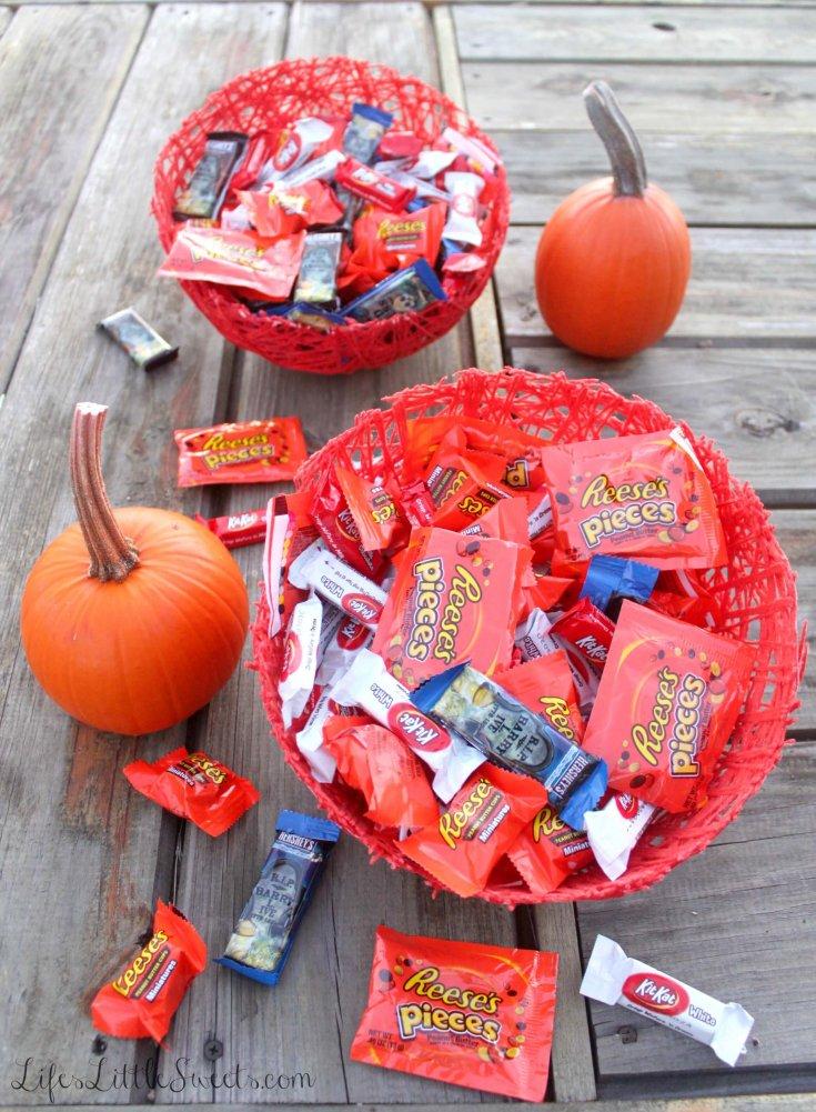 DIY Halloween Treat Bowls