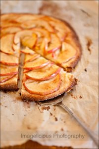 Thin Apple Tart from imagelicious