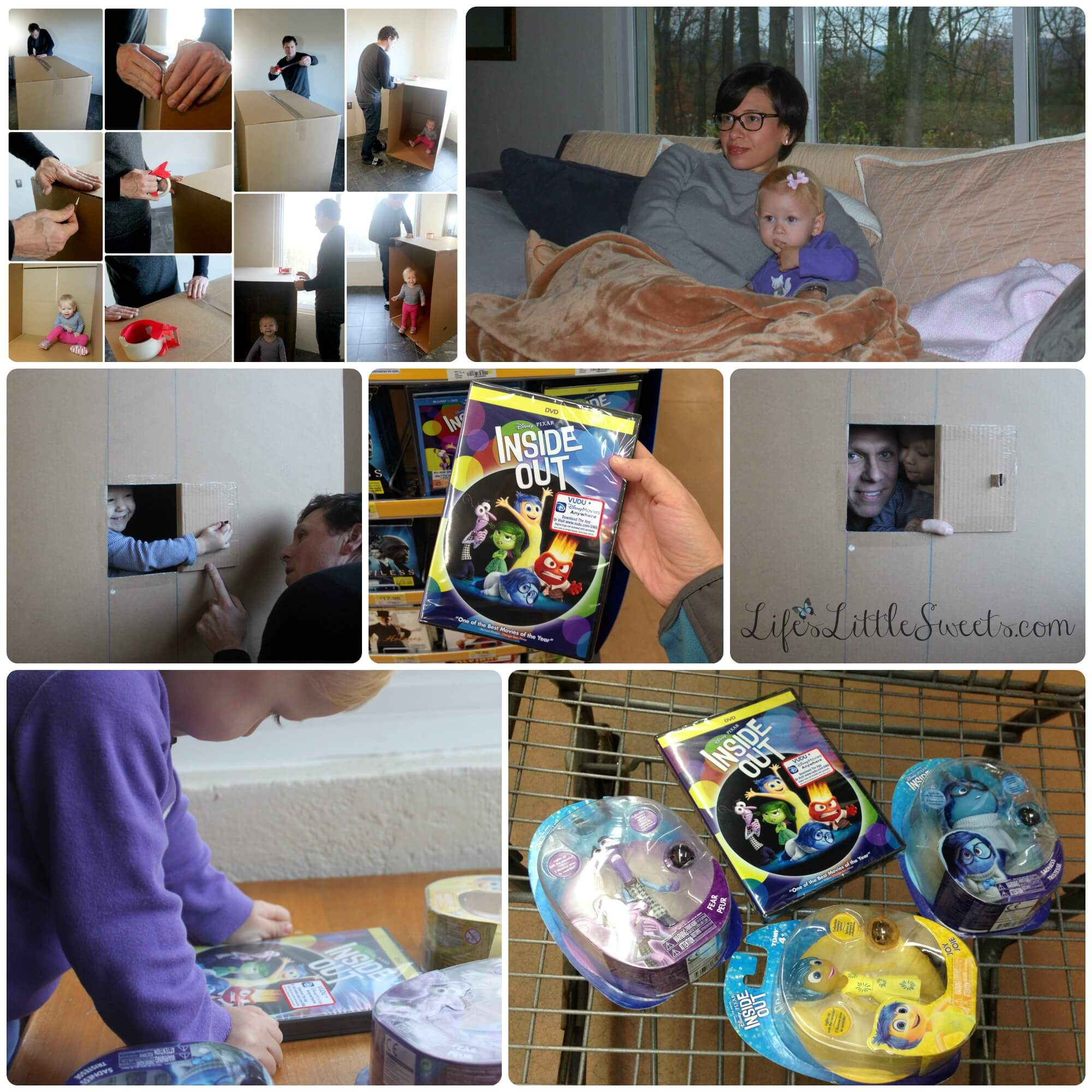 """Inside Out"" Movie, TOMY Toys & DIY Imagination Box #ad #InsideOutEmotions #CollectiveBias #lifeslittlesweets #diy"