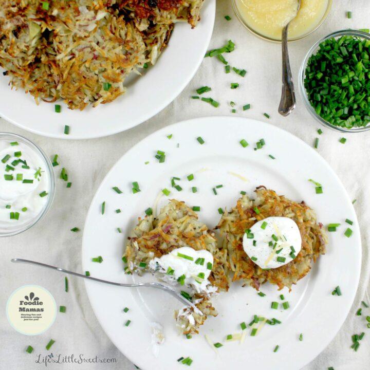 Potato Pancakes (GF) #FoodieMamas