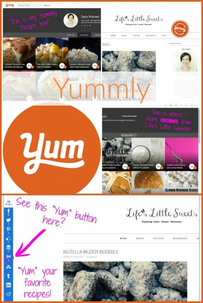 "Have you heard of Yummly? Do you ""Yum"" recipes yet? Want to find out more? I am going to tell you how and why I use it and how useful it is for Foodies and Food Bloggers alike! #lifeslittlesweets #yummly"
