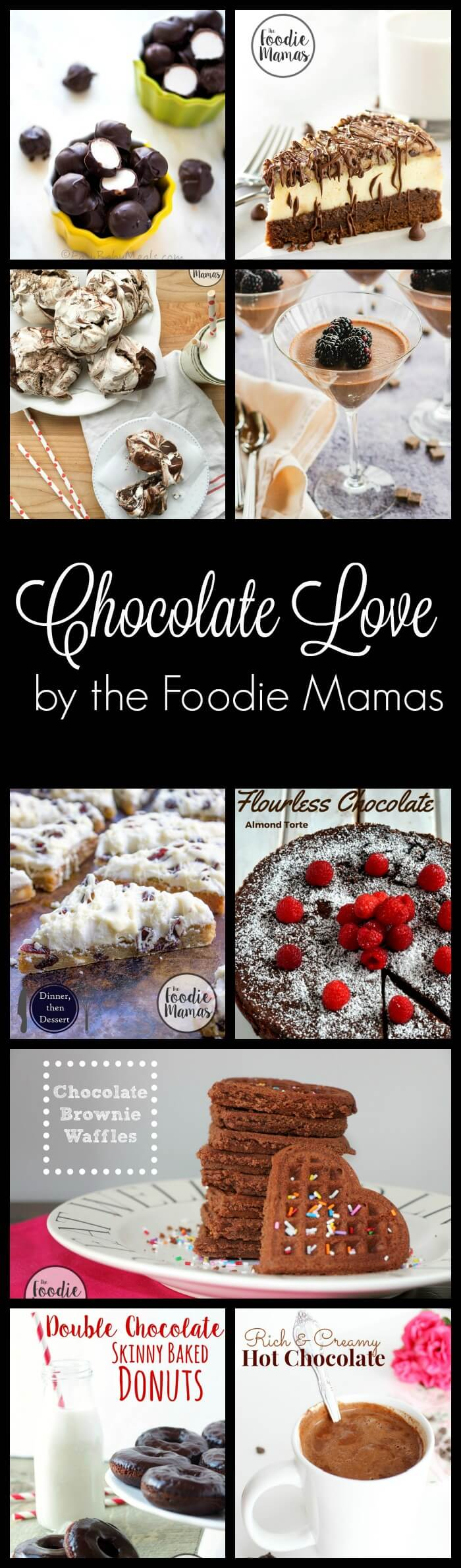 Chocolate Love Recipes #FoodieMamas