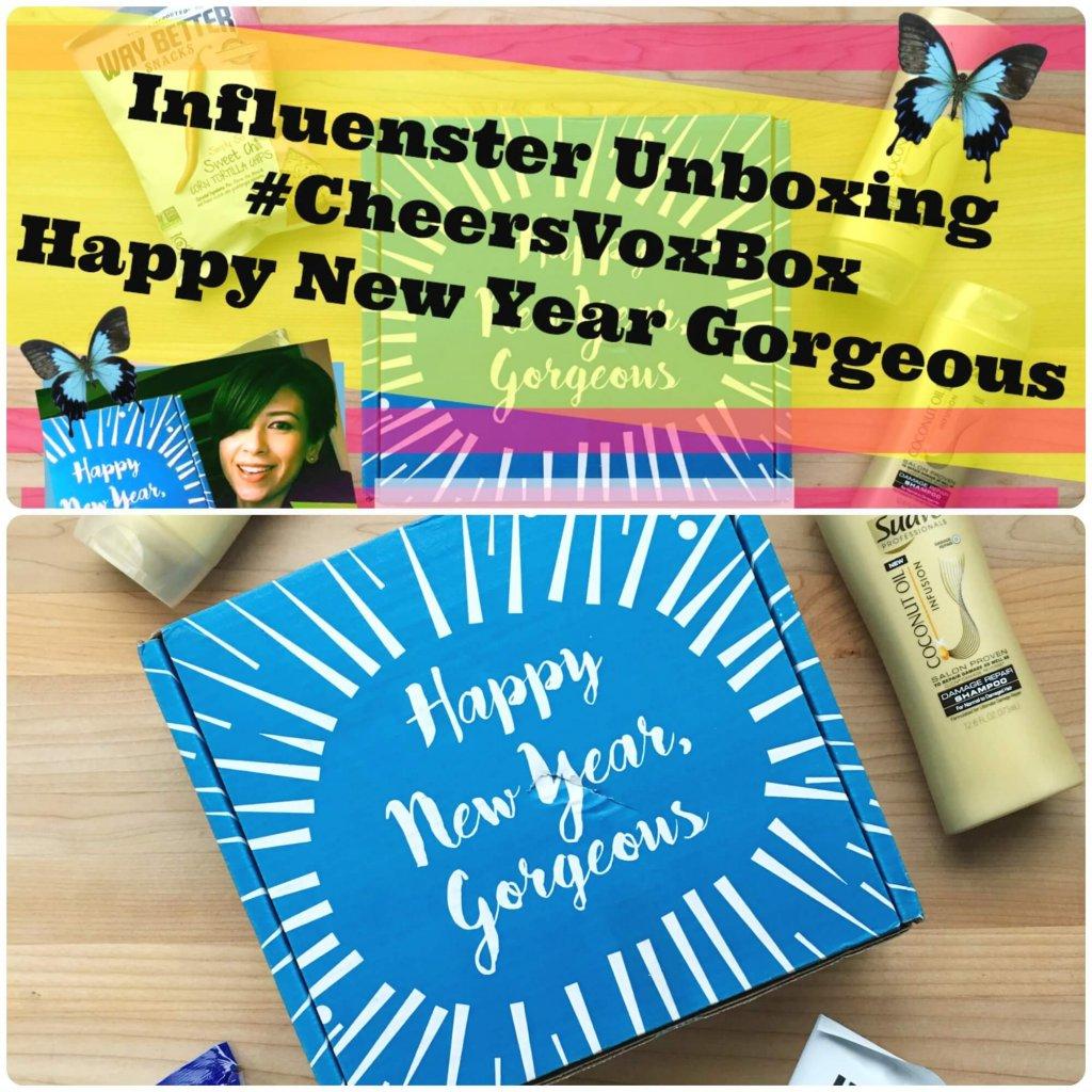Influenster Unboxing #CheersVoxBox