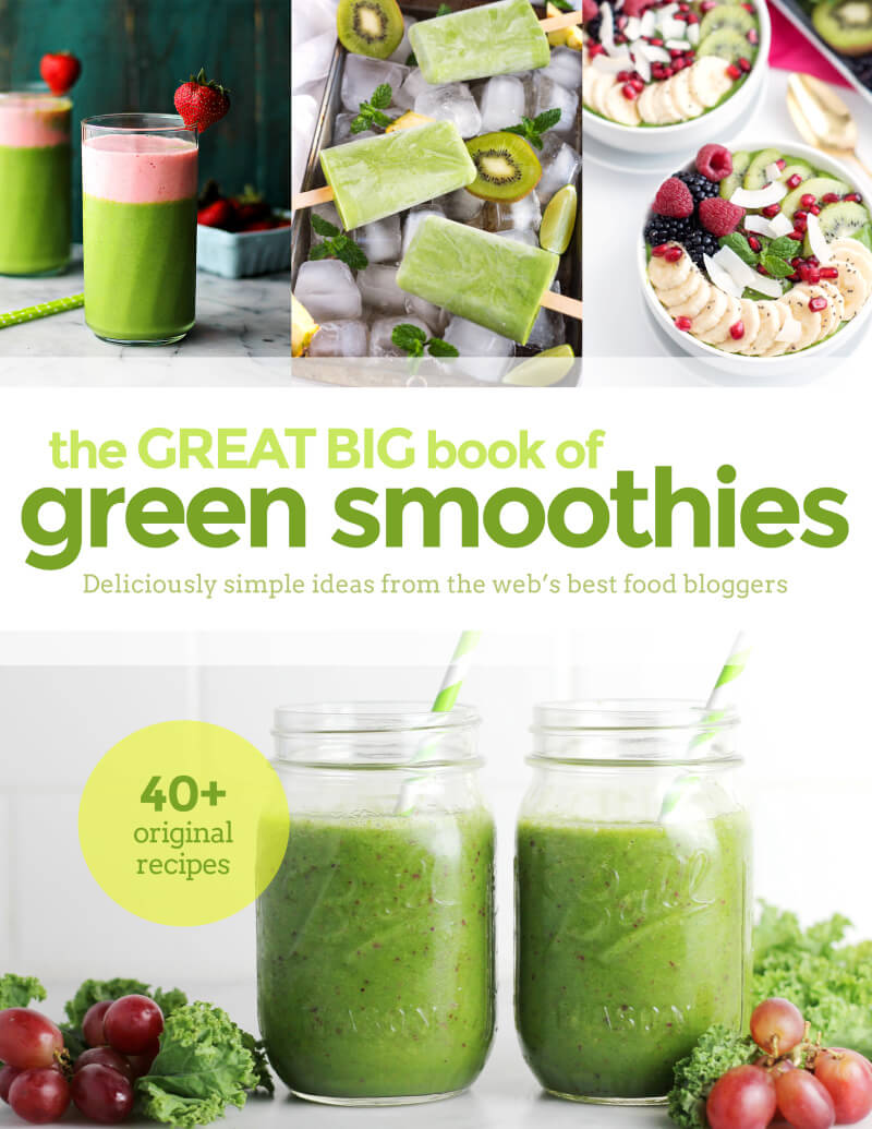 The Great Big Book of Green Smoothies eCookBook + Green Smoothie for Beginners (Recipe) - Life's Little Sweets now offers The Great Big Book of Green Smoothies eCookBook! Check out why incorporating Green Smoothies into your life is so important and try a Green Smoothie for Beginners recipe! #smoothie #greensmoothie #ebook