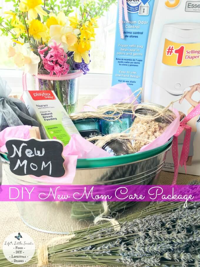 Diy new mom care package mother 39 s day new mom gift ideas for Gift ideas for mom who has everything