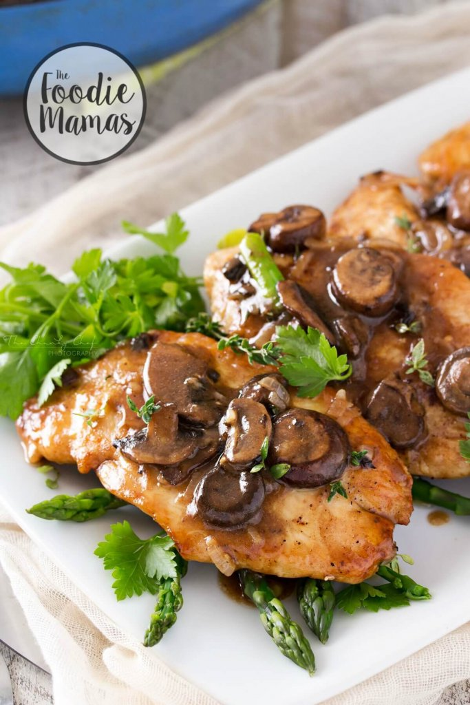Easy Chicken Marsala - Amanda Batcher | The Chunky Chef
