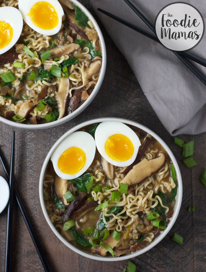 Miso Mushroom Ramen - Lucy Baker Brandes | Turnip the Oven