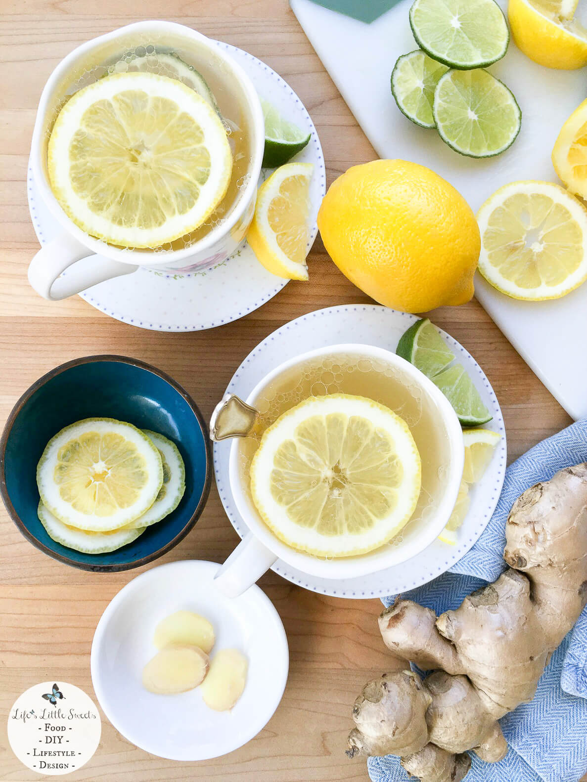 Citrus Honey Ginger Tea | Favorite Recipes For When You Are Sick Collection