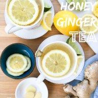 Citrus Honey Ginger Tea