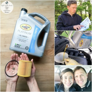 This DIY Oil Change makes changing your oil easier than you think! Save money and be resourceful by changing your own oil! We demonstrate how to change your car's oil by using Pennzoil motor oil purchased at Walmart; see our step-by-step tutorial. #ad #DotComDIY#CollectiveBias