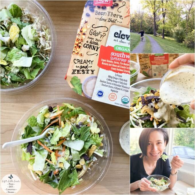 How To Get Your Afternoon Back & Salad For Dinner with Ready Pac elevĀte Salads at Wegman's 680x680