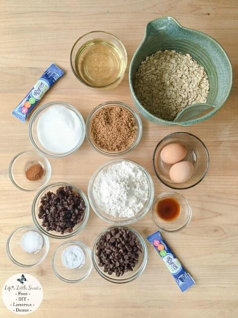 W WM ingr 480x640 Chocolate Chip Oatmeal Raisin Cookies