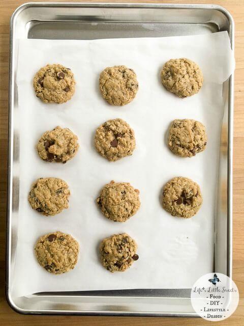 W WM on pan 480x640 Chocolate Chip Oatmeal Raisin Cookies