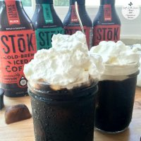 Whipped Cream Cold-Brew Iced Coffee