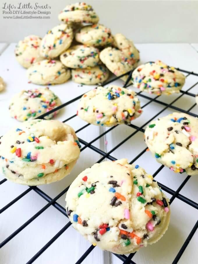 Easy Funfetti Sugar Cookies