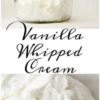 Vanilla Whipped Cream 680x907 www.lifeslittlesweets.com Hero