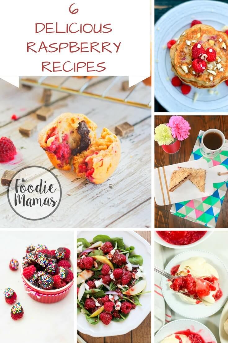 Check out the #FoodieMamas Raspberry Recipe Roundup!