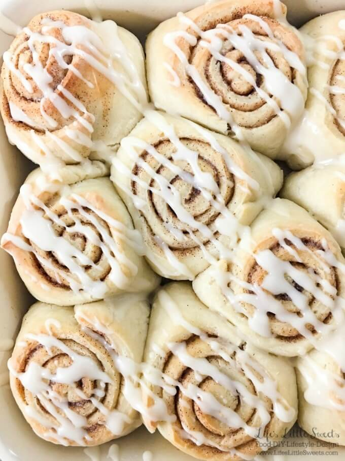 Simple Homemade Cinnamon Rolls - Easy Cinnamon Buns