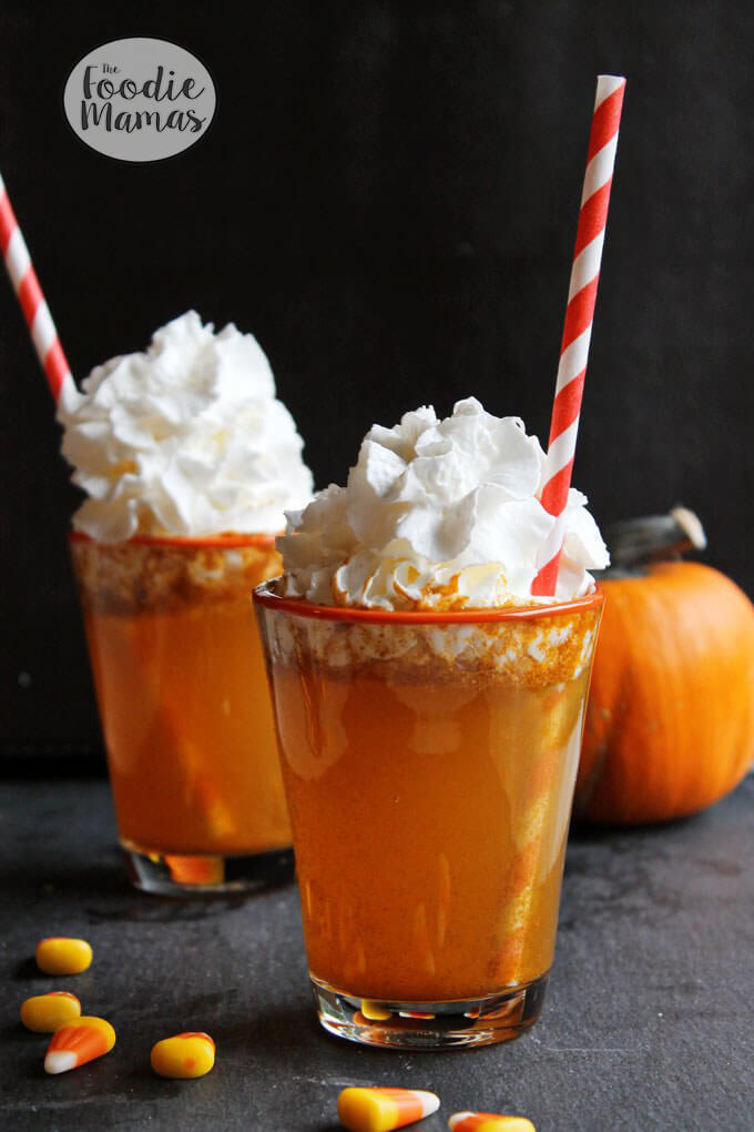 Homemade Pumpkin Spice Soda | Trish of Rhubarbarians