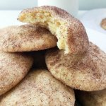 ? These Snickerdoodle Cookies have only 8 ingredients, and make the most aromatic, chewy and delicious cookies with crisp edges. They are such a satisfying and tasty cookie, expect them to be gone as soon as you make them!