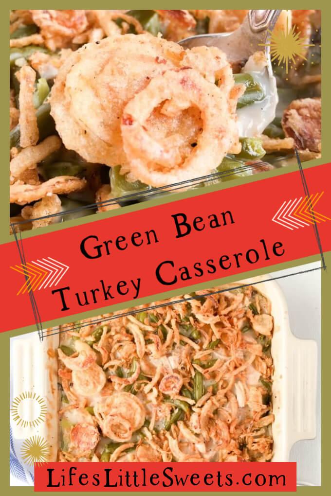 Green Bean Turkey Casserole