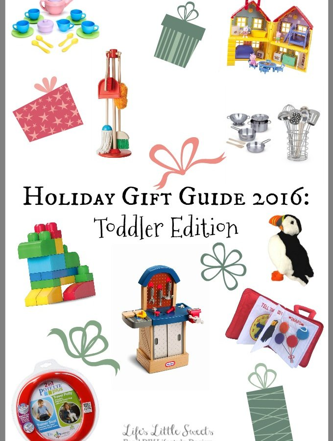 Holiday Gift Guide 2016: Toddler Edition | Life's Little Sweets