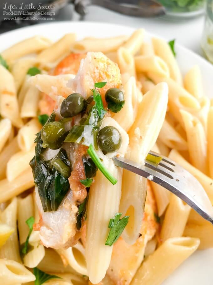 Capers chicken pasta recipes