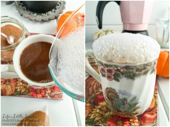 Pumpkin Spice Latte With Salted Caramel Recipe — Dishmaps