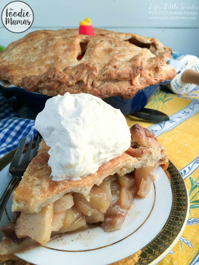 Incredible Homemade Apple Pie | Life's Little Sweets - 10 Holiday Desserts Recipe Roundup #FoodieMamas