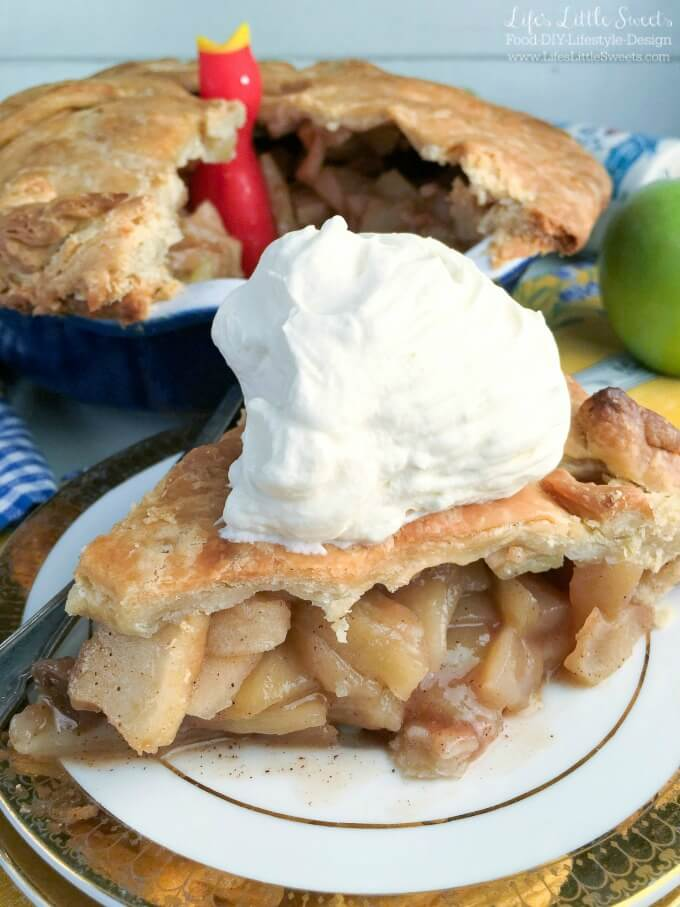 This classic, Incredible Homemade Apple Pie has an incredible flavor with a buttery, crisp crust one can only dream about. Bring this epic homemade pie to your next holiday gathering and get ready for the fanfare it brings! (vegan option)