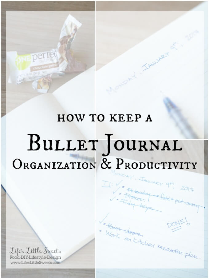 How to keep a bullet journal www.lifeslittlesweets.com sara maniez ad walmart zoneperfect bars 680x907 hero