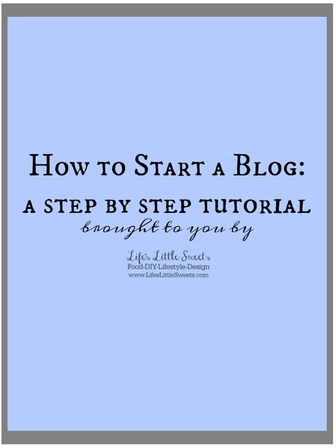 How to Start a Blog: Are you contemplating starting a blog? A food blog, lifestyle blog or a combination of both? You can blog about really any topic! Here's a step-by-step guide with 5 Steps to help you in this process. I share my thoughts and experience every step of the way :)