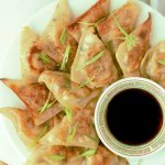 Pork Cabbage Potsticker Wonton Dumplings (Steamed or Fried) www.LifesLittleSweets.com