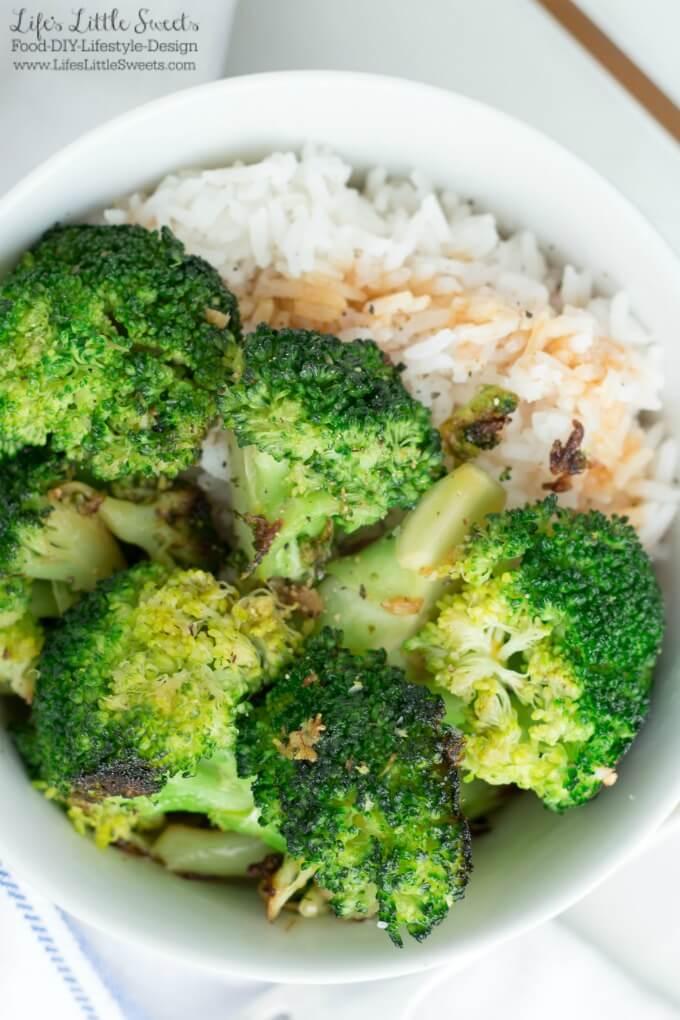 14 Healthy Recipes + 2 Bonus Recipes! | Stir-Fried Ginger Garlic Broccoli www.LifesLittleSweets.com