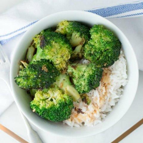 Stir-Fried Ginger Garlic Broccoli www.LifesLittleSweets.com