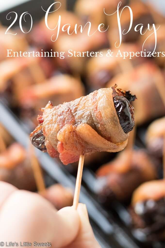 This Game Day Entertaining Starters and Appetizers Recipe Roundup will have you covered for game day entertaining with 10 delicious recipes.  We have from Nutella Muddy Buddies to Blue Cheese Dipping Sauce to Salmon Tacos with Fresh Salsa & Avocado Sauce! #appetizers #gameday #superbowl #food