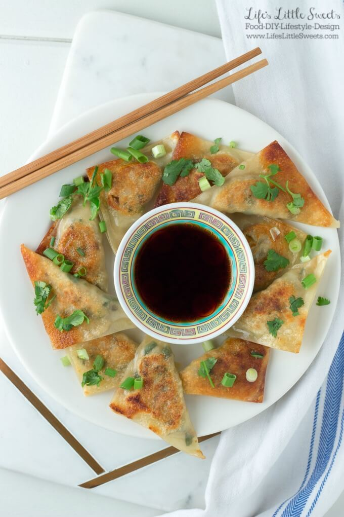Vegetable Potsticker Dumplings (Steamed or Fried) are a flavor-packed and savory dumpling recipe. Enjoy them during Chinese New Year, game day, appetizer or dinner year round! #dumpling #potsticker #vegetable #wonton #Chinesefood